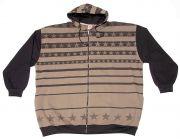 "Sweatshirt con cappuccio ""Stars"""