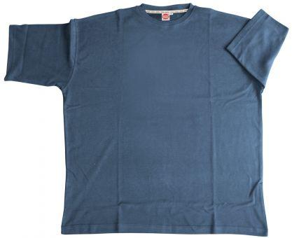 T-Shirt Basic blu-medio 7XL