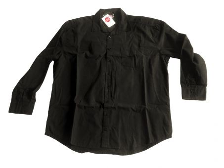 Camicia di lino, nero