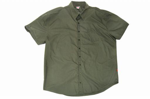 Camicia di lino, verde dell'esercito