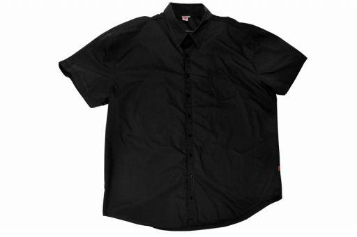 Camicia di cotone, nero