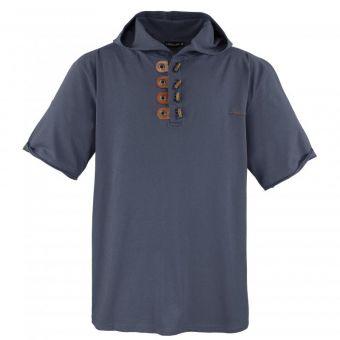 Lavecchia T-Shirt con cappuccio in grigio scuro
