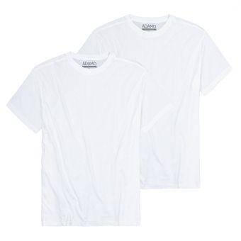 """ADAMO T-Shirt """"Kilian"""" twin pack white"""