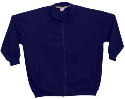 Sweat-Blouson blu-navy