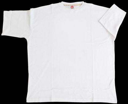 T-Shirt Basic con Elastan bianco