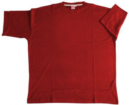 T-Shirt Basic con Elastan rosso