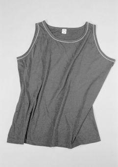 Shirt con spalline/Tanktop grigio