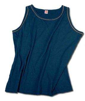Shirt con spalline/Tanktop blu-marine