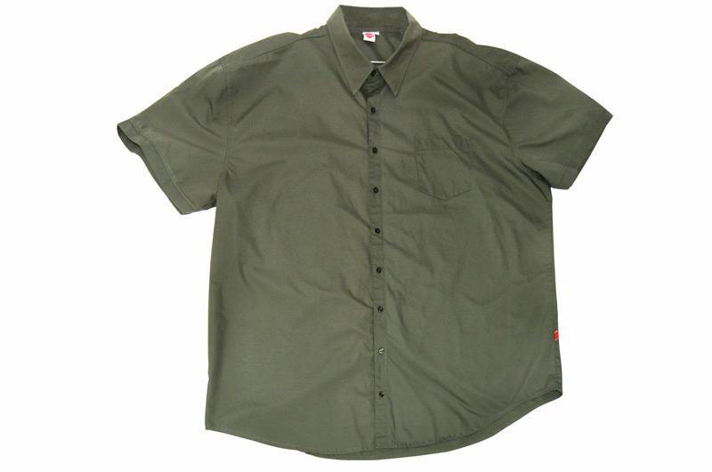 new product b12f1 8fbc0 Camicia di lino, verde dell'esercito | 12xl.it