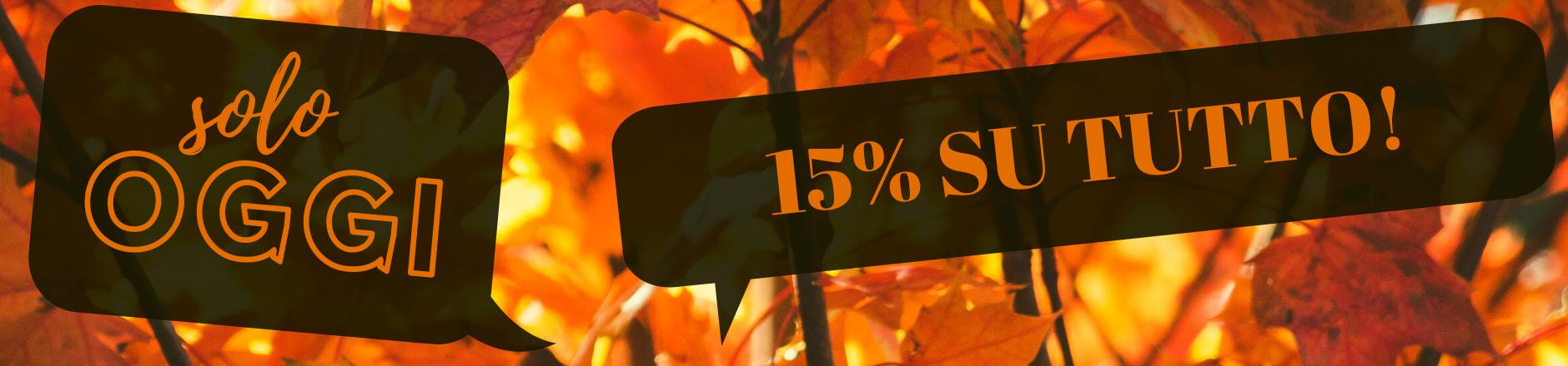 15% AUF ALLES